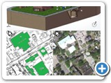 2012 Contest - University of Bridgeport - Site map of CHHP system
